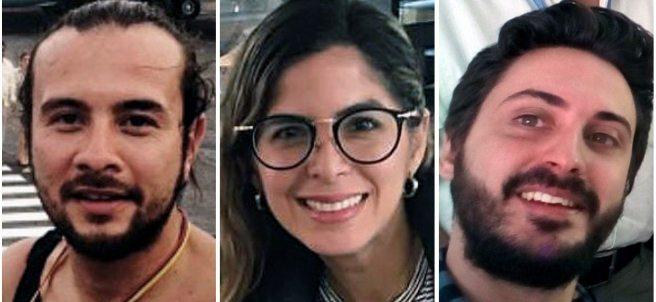 Tres periodistas detenidos