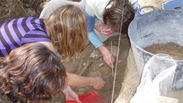 Excavaciones arqueológicas en la provincia de Sevilla