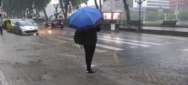 El tiempo empeorará en Euskadi a partir de la segunda mitad del viernes