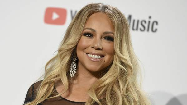 Mariah Carey en los 'American Music Awards'