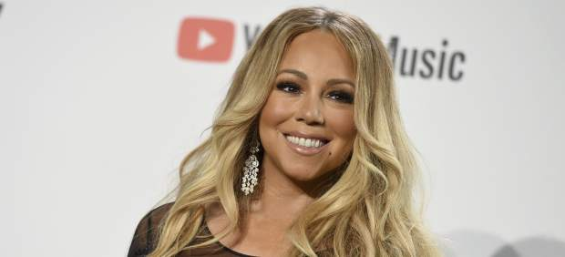 Mariah Carey en los 'American Music Awards'