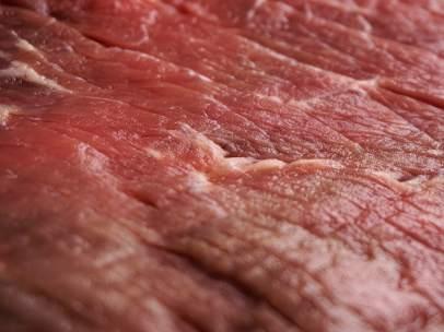 Primer plano de un filete de carne.
