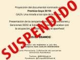 Gaza suspendido