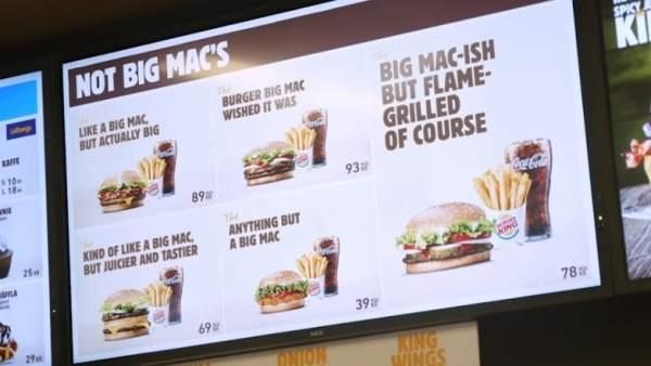 Troleo de Burger King a McDonald's