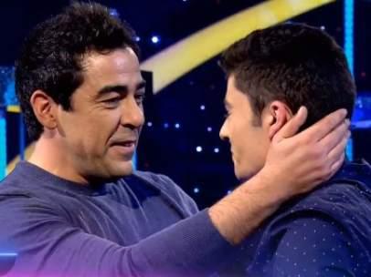 Pablo Chiapella sorprende a un fan