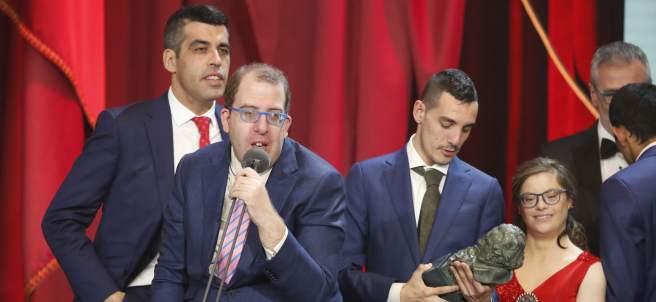 'Campeones' celebra su Goya