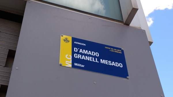València esborra definitivament el franquisme de la seua llista de carrers