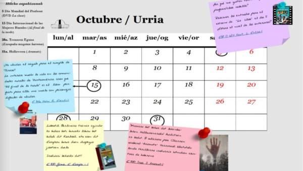 Calendario Atrapalo.La Biblioteca De La Upna Elabora Un Calendario Que Recomienda Libros