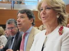 Esperanza Aguirre, Ignacio González y Francisco Granados en una imagen de archivo.