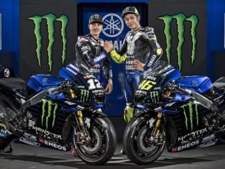Maverick Viñales y Valentino Rossi
