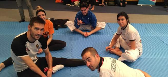 El equipo español de taekwondo paralímpico