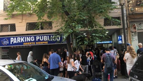 El AMPA de San Juan de la Ribera critica la inseguridad en el acceso al colegio