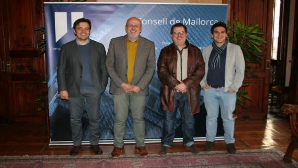 Encuentro entre el Consell de Mallorca y la Orquesta de Cámara