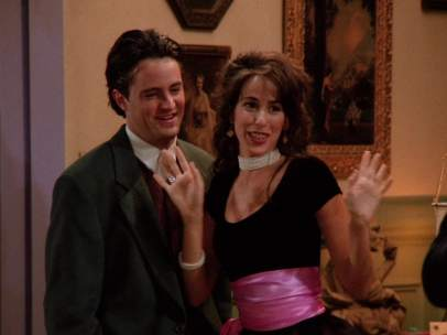 Janice, la novia de Chandler en 'Friends'
