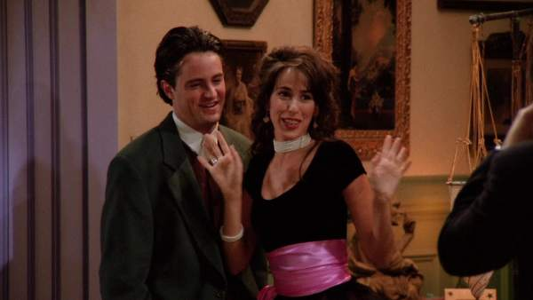 Janice, la novia de Chandler en 'Friends'