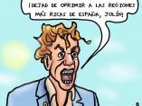 Los oprimidos de España, viñeta de Superantipático