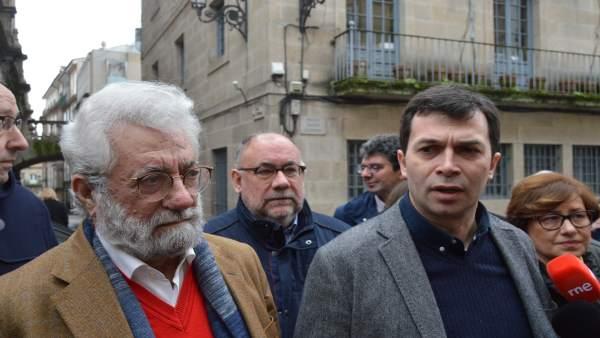 Bieito Ledo y Gonzalo Caballero en Ourense