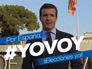 Campaña del PP para manifestarse en Colón