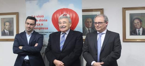 Jordi Quejido, Joan Ramon París y Joan Simó