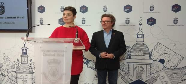 Rueda de prensa de Pilar Zamora sobre peatonalización