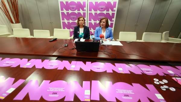 Susana López Abella (a la derecha) en una imagen de archivo