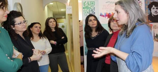 La directora del Instituto de la Mujer de C-LM en Alovera