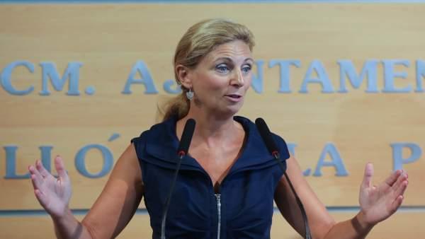 La alcaldesa de Castellón, Amparo Marco