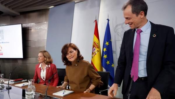 Imagen del Consejo de Ministros de este viernes