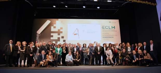 Premiados en el Día de la Enseñanza de C-LM en Motilla del Palancar
