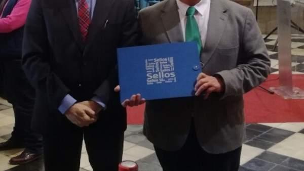 Presentación del sello de Calzadilla de los Barros