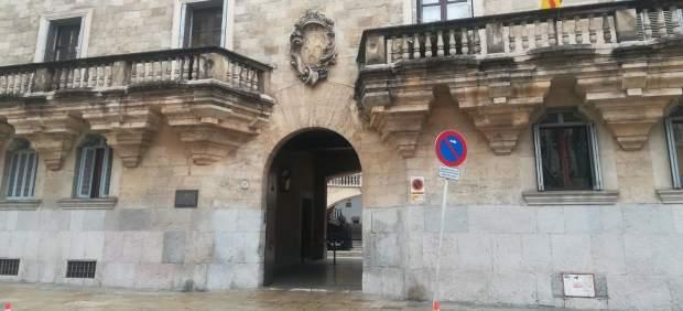 Fachada del Palacio de Justicia, sede de la Audiencia y del TSJIB