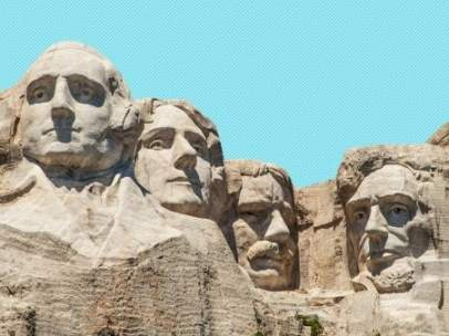 Imagen del Monte Rushmore.