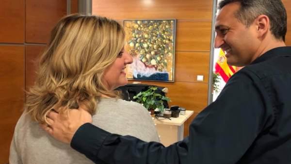 Ana Sala y César Sánchez.