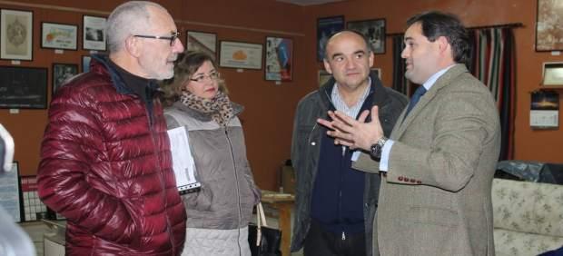 El presidente del PP de C-LM, Paco Núñez, en Villarrobledo