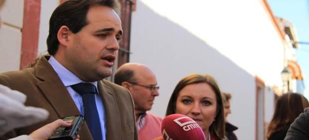 El presidente del PP de C-LM en Argamasilla de Alba