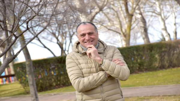 El candidato del PSOE a la Alcaldía de Tarancón, Manuel López