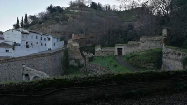 Muro del Barranco de Fuentepeña