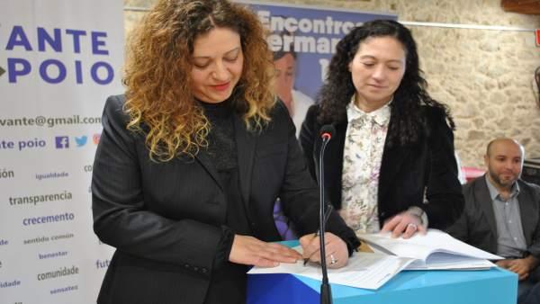 Avante Poio firma con En Marea un acuerdo de colaboración para las municipales