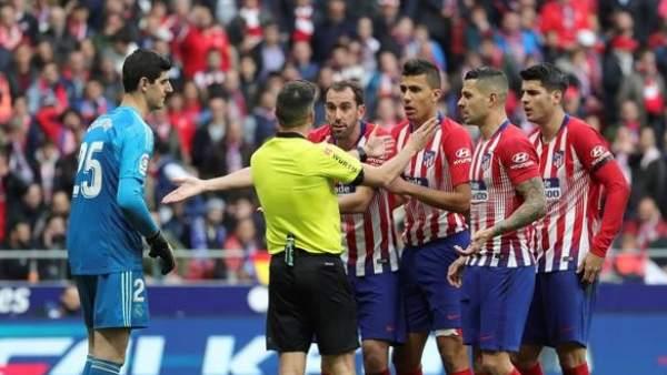 Atlético de Madrid vs. Real Madrid.