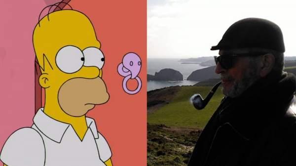 Homer Simpson y Carlos Ysbert.
