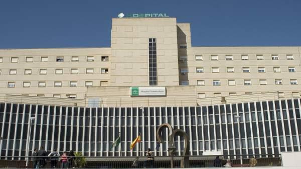 Vista del Hospital de Valme de Sevilla