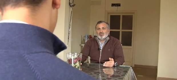 Casimiro Villegas, en una entrevista.