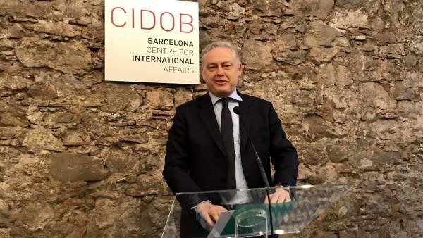El embajador británico en España, Simon Manley