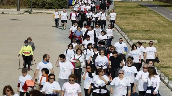 Caminata por el 50 aniversario del Hospital La Fe