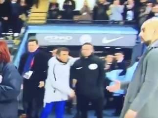 Sarri y Guardiola.