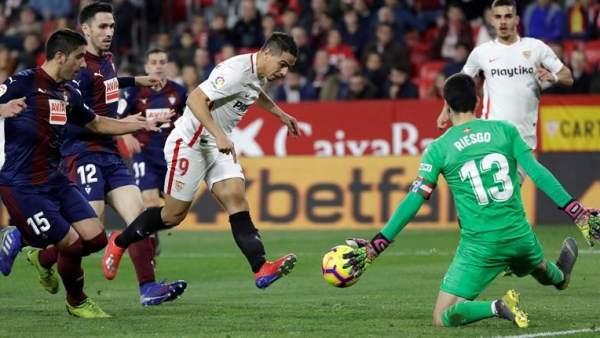 Sevilla vs. Eibar.