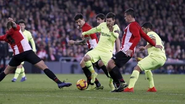 Athletic vs. Barcelona.