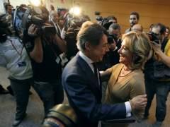 Ignacio González y Esperanza Aguirre, en una imagen de archivo