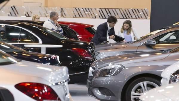 Imagen del Salón del Vehículo de Ocasión 2018 en Ifema (Madrid)