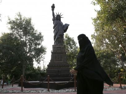 Réplica de la Estatua de la Liberad